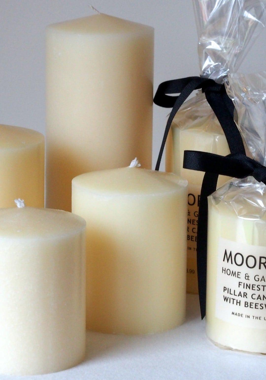 Cream Pillar & Dinner Candles